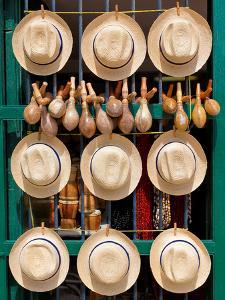 Hats, Musical Instruments,Religious Necklaces and Other Traditional Craft for Sale in Havana by Kamira