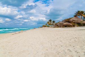 The Cuban Beach of Varadero on a Beautiful Day by Kamira