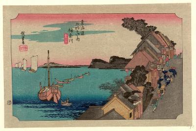 Kanagawa-Utagawa Hiroshige-Giclee Print