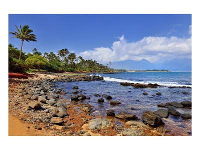 Kanaha Beach Park near Paia, Island of Maui, Hawaii, USA--Art Print