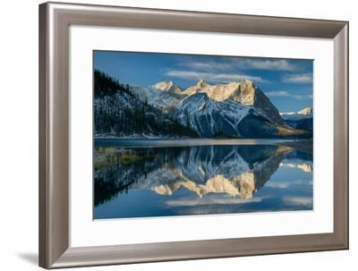 Kananaskis Lake Reflection-Alan Majchrowicz-Framed Photo