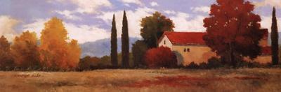 Burgundy Farmhouse I