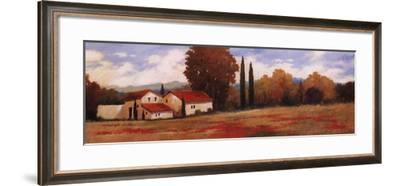 Burgundy Farmhouse II