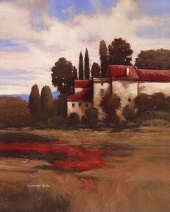 Red Roofs I by Kanayo Ede