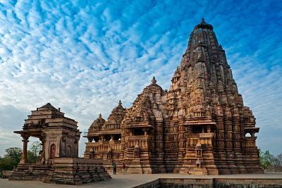 Kandariya Mahadeva Temple, Khajuraho, India, Unesco Heritage Site.-Rudra Narayan Mitra-Photographic Print
