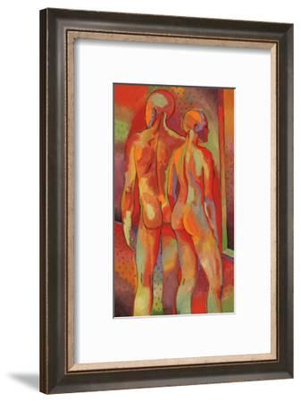 Kandinsky's Dancers I-John Newcomb-Framed Giclee Print