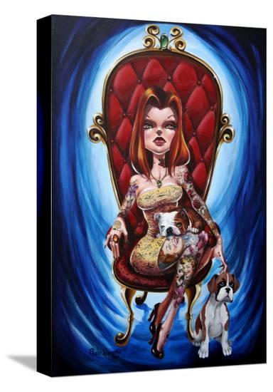 Kanina-Gabi Spree-Stretched Canvas Print