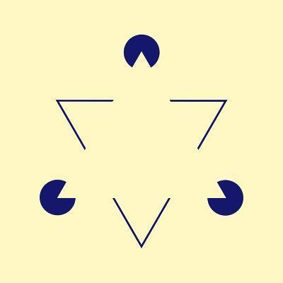 Kanizsa Triangle-Science Photo Library-Photographic Print
