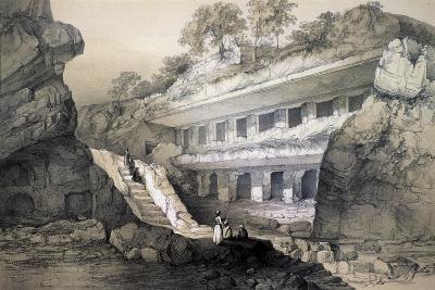 Kannari (Si), View of Durbar Cave-John Weale-Giclee Print