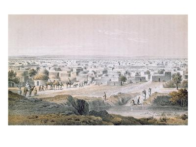 Kano, Nigeria, in 1851, 'Travels and Discoveries in North and Central Africa' by Heinrich Barth-Johann Martin Bernatz-Giclee Print