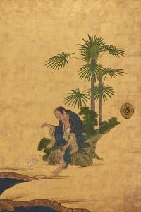 Taoist Immortals, C.1647 by Kano Sansetsu