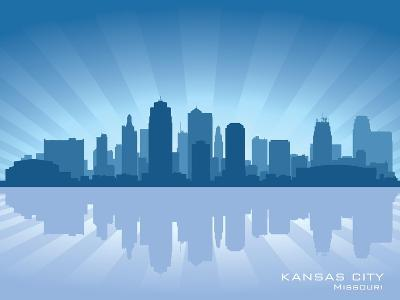Kansas City, Missouri Skyline-Yurkaimmortal-Art Print