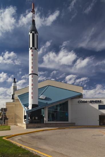 Kansas Cosmosphere and Space Center Exterior, Hutchinson, Kansas, USA-Walter Bibikow-Photographic Print