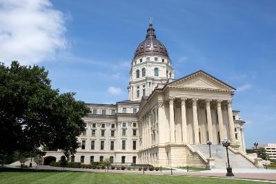 Kansas State Capitol-Steven Frame-Photographic Print