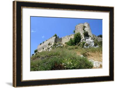 Kantara Castle, North Cyprus-Peter Thompson-Framed Photographic Print