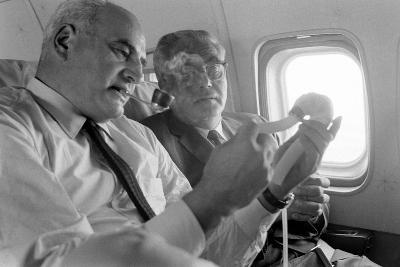 Kantrowitz Brothers (Adrian and Arthur) During Ventricle Heart Part Experiment, June 1966-Ralph Morse-Photographic Print
