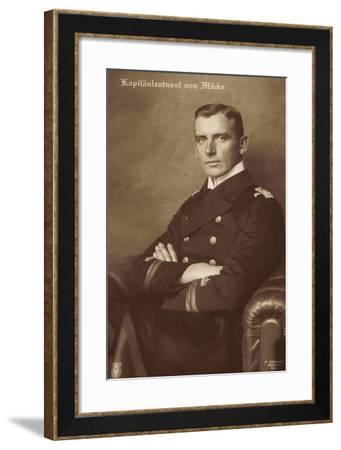 Kapitänleutnant Hellmuth Von Mücke, Npg 5292--Framed Giclee Print