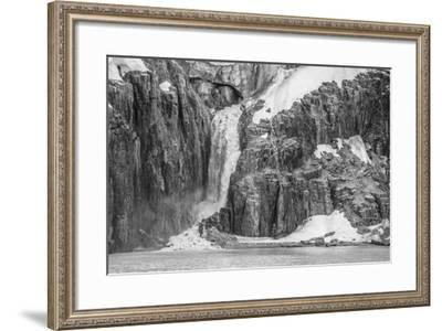 Kapp Fanshawe, Spitsbergen, Svalbard, Norway, Scandinavia, Europe-Michael Nolan-Framed Photographic Print