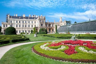 Baroque Castle Lednice Unesco, South Moravia, Czech Republic