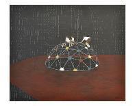 The Ascending Rabbit-Kara Smith-Art Print