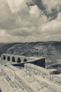 Karak Crusader Castle, Karak, Kings Highway, Jordan