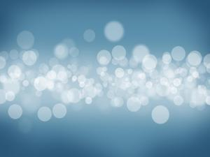 Blurred Bokeh Abstract Background by karandaev