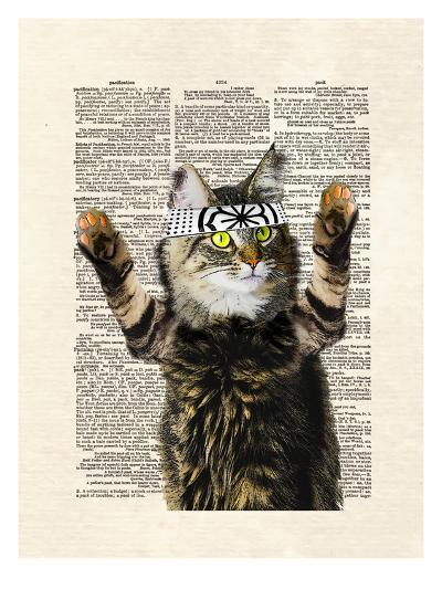 Karate Kitty-Matt Dinniman-Art Print