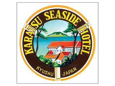 Karatsu Seaside Hotel--Art Print