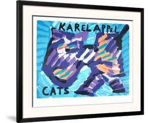 Cats by Karel Appel