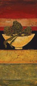Artichoke Study I by Karel Burrows