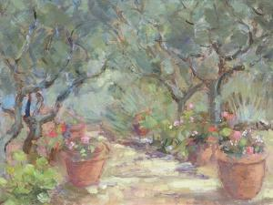 Garden in Porto Ercole, Italy, 1996 by Karen Armitage