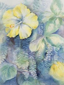 Hibiscus, Yellow by Karen Armitage