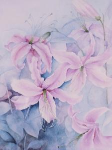 Lilies, Pink Auratum by Karen Armitage