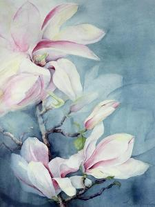 Magnolia Soulangeana (Vertical) by Karen Armitage