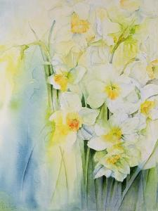 Narcissi and Freesia by Karen Armitage