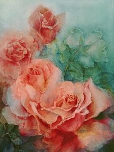 Pink Roses, Prima Ballerina by Karen Armitage