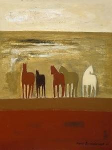 5 Ponies by Karen Bezuidenhout