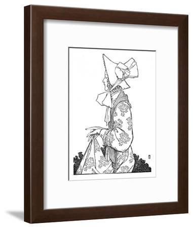 'Karen', c1930-W Heath Robinson-Framed Giclee Print