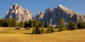 Alpe Di Siusi, Seiser Alm, South Tyrol, Dolomites, Italy by Karen Deakin