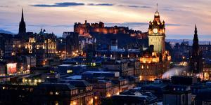 Edinburgh, Scotland, United Kingdom, Europe by Karen Deakin