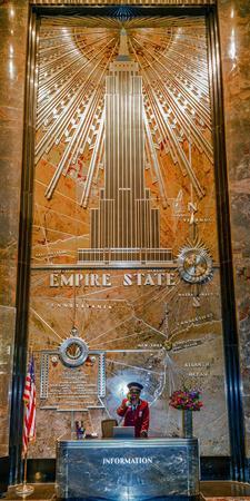 Empire State Building, New York City, New York, United States of America, North America