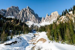 The Italian Dolomites, Italy, Europe by Karen Deakin