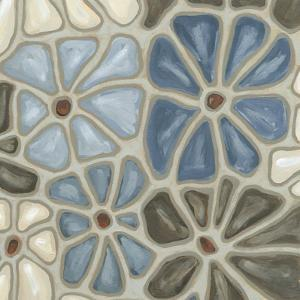 Tiled Petals I by Karen Deans