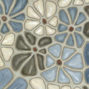 Tiled Petals II by Karen Deans
