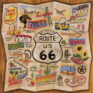 Route 66 by Karen Dupr?