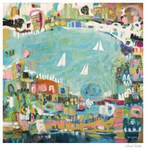 Abstract Marina IV by Karen  Fields