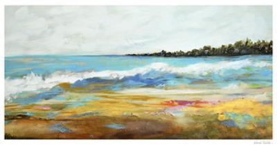 Beach Surf II by Karen Fields