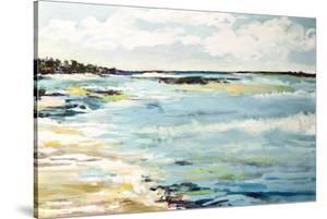 Beach Surf III by Karen  Fields