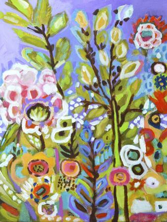 Garden Of Whimsy III by Karen Fields
