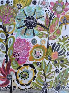 Garden Of Whimsy V by Karen  Fields
